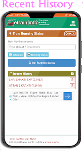 Live Train Status IRCTC Apk Download For Android 4