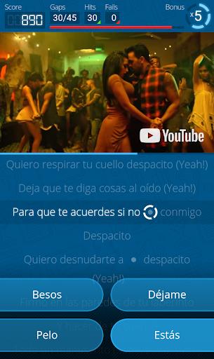 LyricsTraining - Learn English, Spanish, French... 0.9.4 screenshots 7