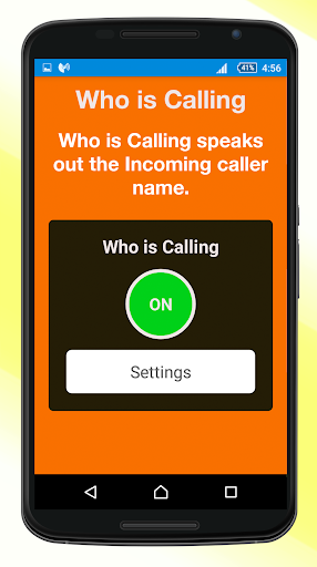 Who is Calling or Sending SMS