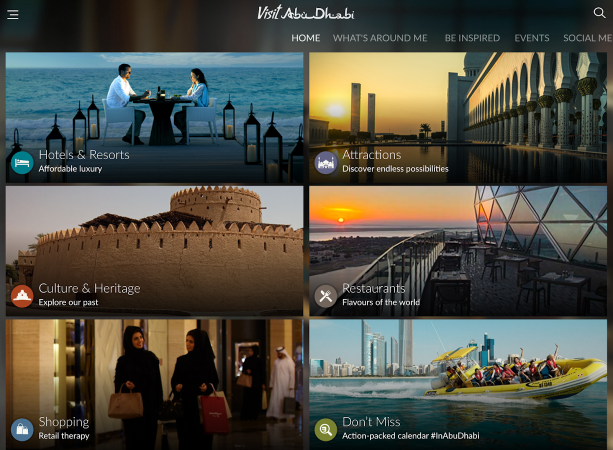 Visit Abu Dhabi- screenshot