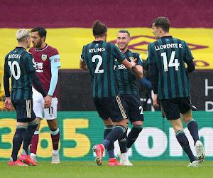 Leeds s'impose à Burnley dans un match sans enjeu