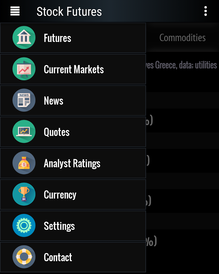 Stock Futures Quotes Delectable Stock Futures  Android Apps On Google Play