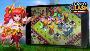 Castle Clash: War of Heroes RU screenshot for Android