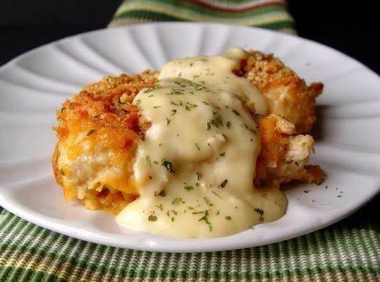 Crispy Cheddar Chicken Just A Pinch Recipes