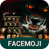 Evil Blood Wolf & Dark Forest Keyboard Theme