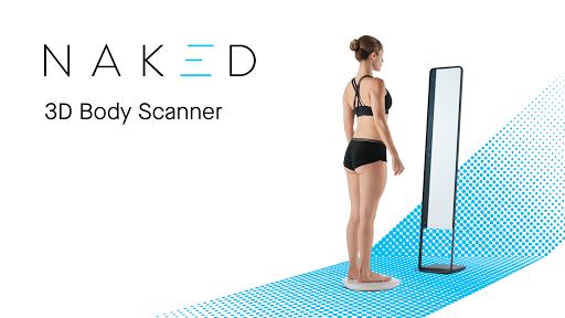 Naked u2014 3D Home Body Scanner 1.0.2 (2040) screenshots 1