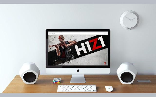 Wallpaper H1Z1 New Tab