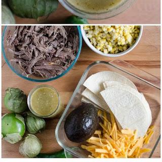 Amazing Easy Homemade Green Enchilada Sauce.