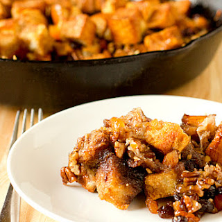 Capirotada (Mexican Bread Pudding)