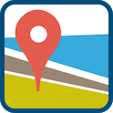 GPS Route finder & Navigation with Live Maps icon
