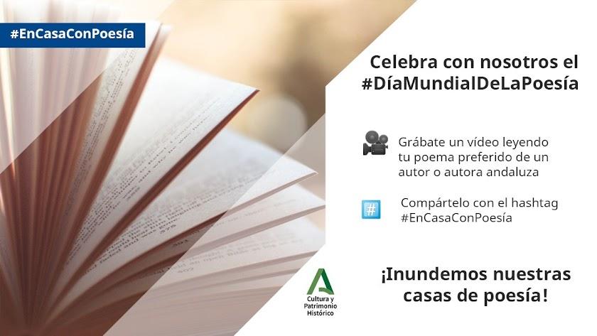Campaña del CAL para fomentar la poesía en los tiempos del coronavirus.
