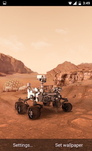 My Mars 3D Live Wallpaper