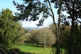 Photo: Vista dende a parroquia de Rois (2012)