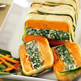 Colourful Vegetable Terrine Recipe