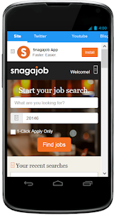 Snagajob - Desktop Version