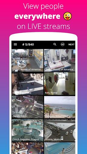 Live Camera: World IP CCTV Webcams Online Video 1.7 screenshots 1