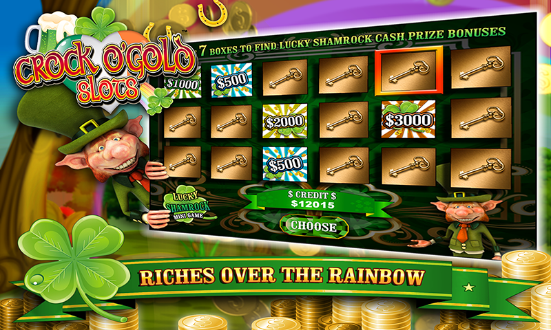 Crock O'Gold Slots FREE 2016- screenshot