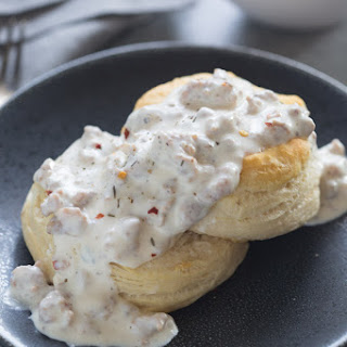 No Milk Biscuits Sausage Gravy Recipes