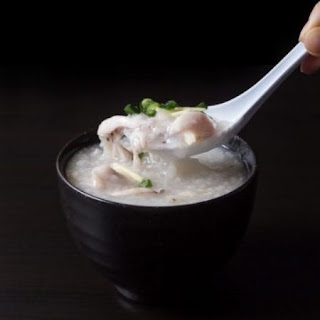 Chicken Congee (Rice Porridge or Jook) in Pressure Cooker