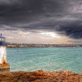 Salem, Mass. by Edward Allen - Landscapes Cloud Formations (  )