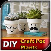 DIY Craft Pot Plants