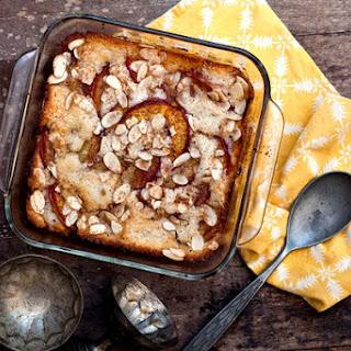 Brown Butter Nectarine Cobbler/Cake