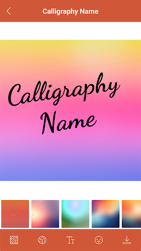 CALLIGRAPHY NAME - Add text over Photo by American Studios (Google