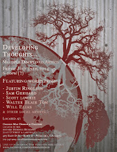Photo: Developing Thoughts Art Show!