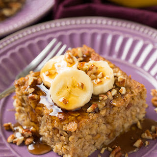 Banana Pecan Baked Oatmeal