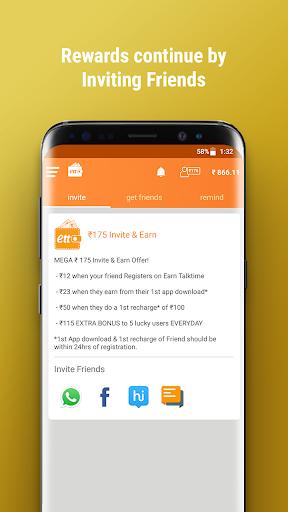 Earn Talktime - Get Recharges, Vouchers, & more! screenshot 11
