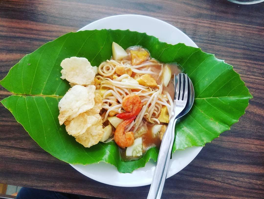 Image result for artikel makanan mie rebus belitung