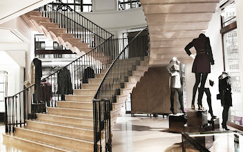 Photo: Inspired by 17th century architecture, the self supporting stone staircases seamlessly link all floors of the building