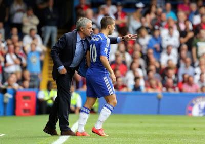 """Mourinho: """"Chelsea tente d'obtenir un accord avec Eden"""""""