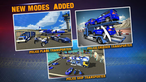 Police Plane Transporter Game 1.0.10 screenshots 3