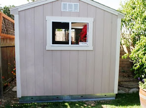 Photo: Here is a photo I took of my Tuff Shed sitting on the EZ Pad. It looks great and works perfect, the installers liked it for the ease of assembly of the shed.  Mike H. Carlsbad, CA