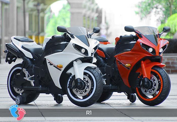 Xe mô tô điện thể thao cho trẻ R1 2