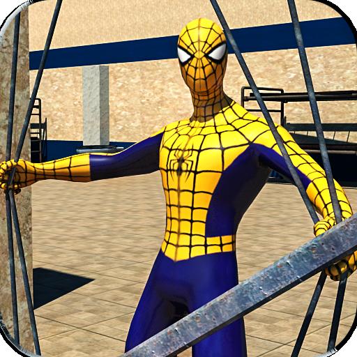 Gangster Spider: Jail Survival Hero