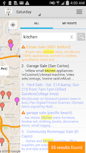 Yard Sale Treasure Map - Apps on Google Play