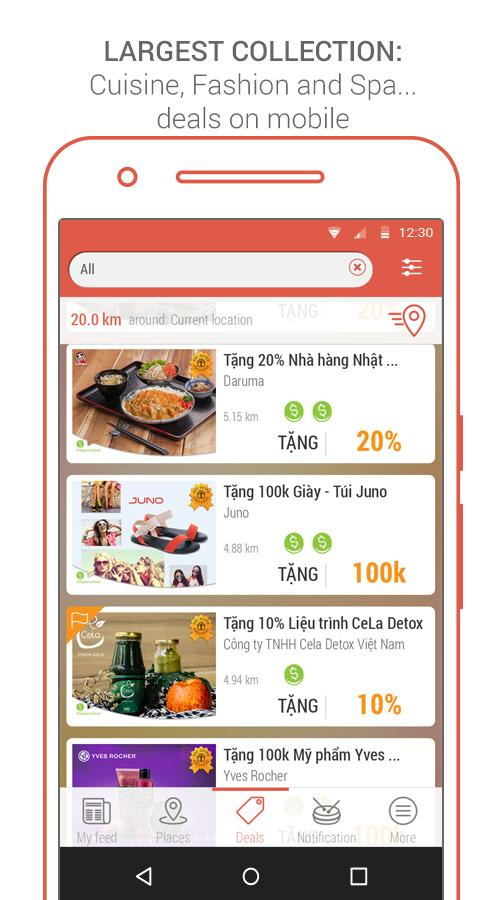 Clingme Local Search and Deal- screenshot