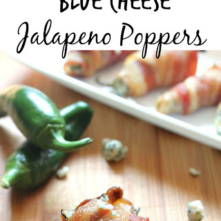 Bacon Blue Cheese Jalapeno Poppers