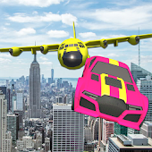 Real Theft Car Sky Auto Stunt icon