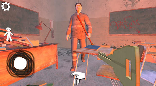 Foto do Mr Sweeper - jogo de terror da vovó