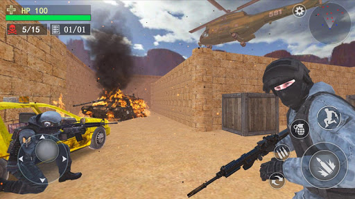 Counter Terrorist--Top Shooter 3D screenshot 1