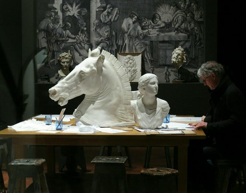 Lo studio del maestro di Giorgio Lucca