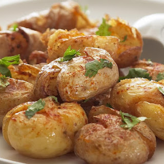 Crunchy Spiced Baby Potatoes