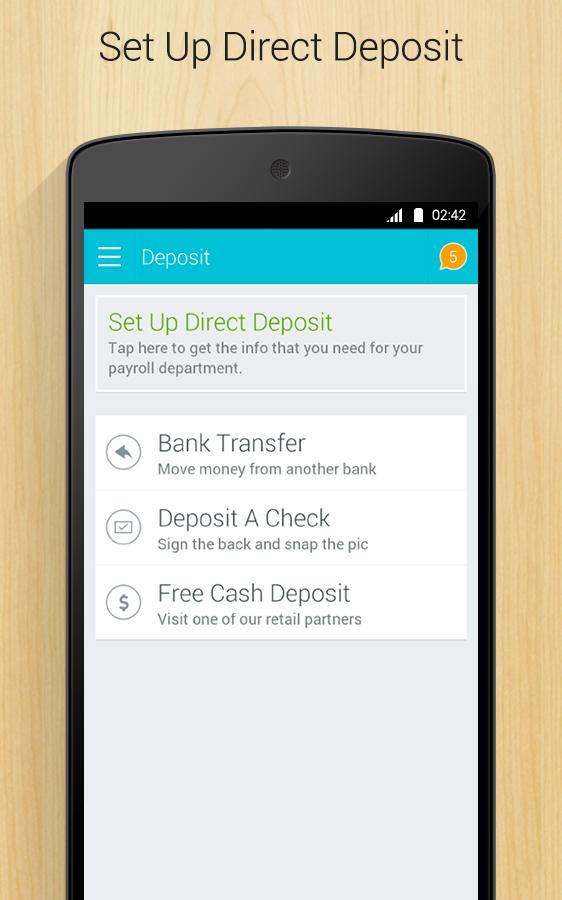 GoBank- screenshot