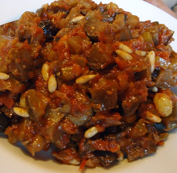 Caponata Of Eggplant Recipe