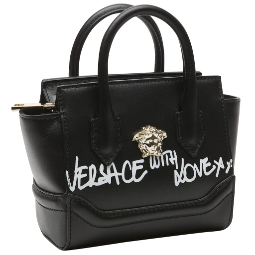 Thumbnail images of Versace Leather Medusa Bag