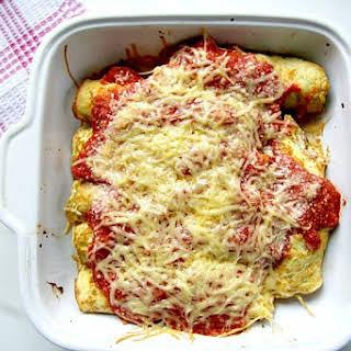 Broccoli Ricotta Cannelloni.