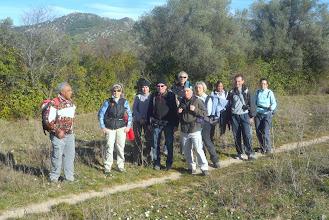 Photo: Le groupe sur le chemin.